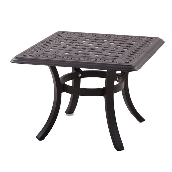 Trym Metal Side Table by Darby Home Co