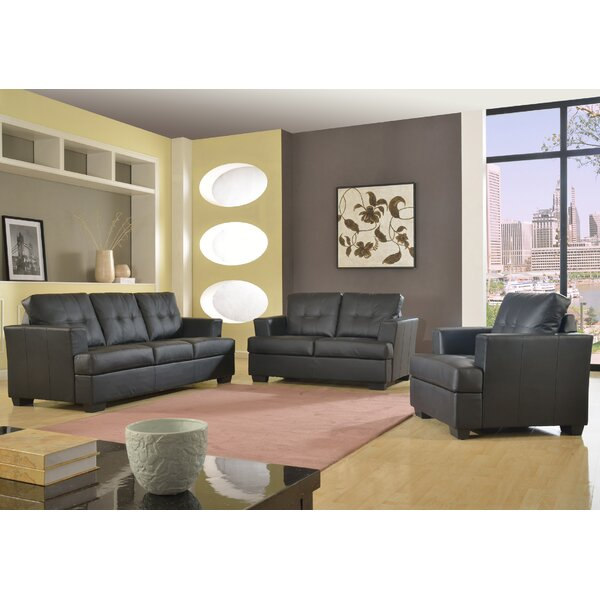 Cecilia 3 Piece Living Room Set by Beverly Fine Furniture