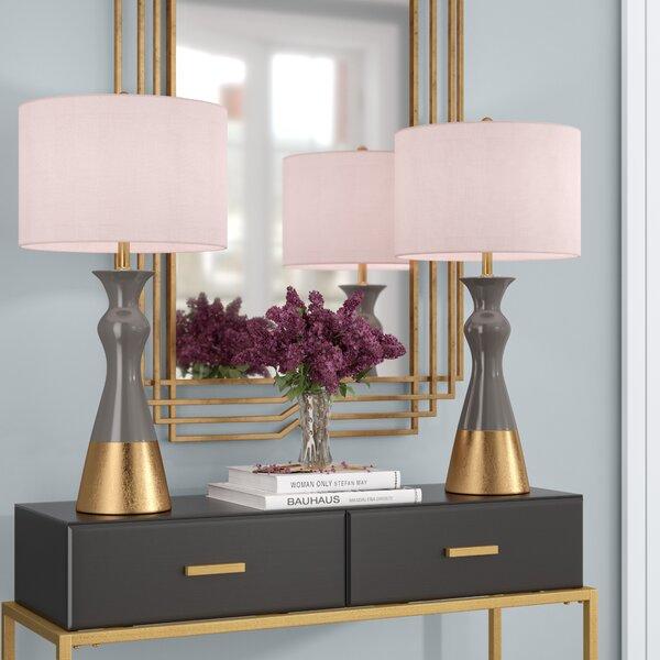 Bowerman 30.5 Table Lamp (Set of 2) by Mercer41