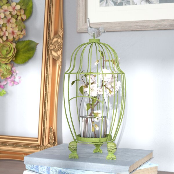Decorative Bird House or Cage by Ophelia & Co.