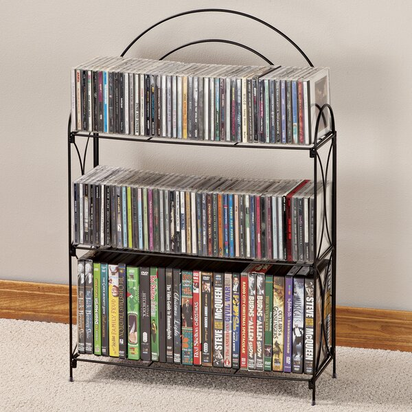 Wire 29 Three Shelf Unit Multimedia Wire Rack by M