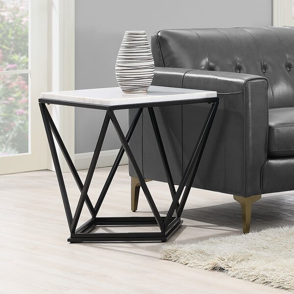 Aledo End Table by Ivy Bronx