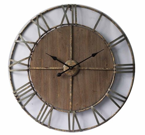 Oversized Colton Mdf 32 Wall Clock by Gracie Oaks