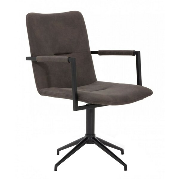 Houserville Fabric Upholstered Arm Chair In Gray By Latitude Run