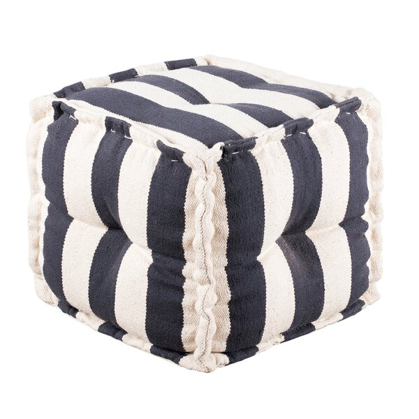 Goodwyn Wide Tufted Pouf by Breakwater Bay