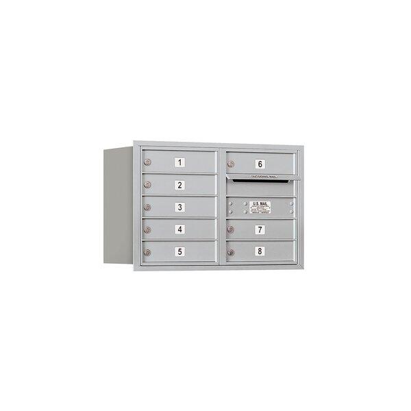8 Door Front Load 4C Horizontal Mail Center by Salsbury Industries