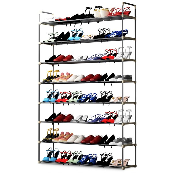8 Tier 48 Pair Shoe Rack