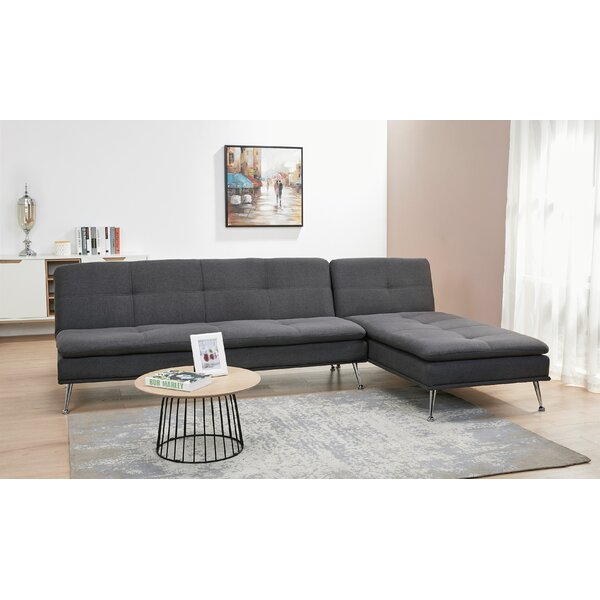 Konen Convertible Reversible Reclining  Sectional by Latitude Run