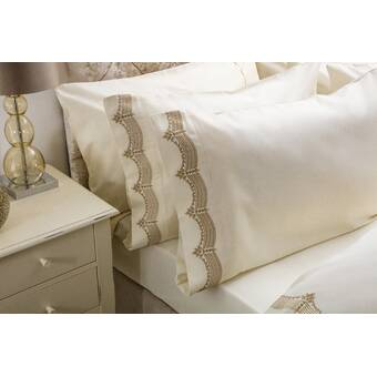 Rosdorf Park Dayanara Oxford Pillowcase