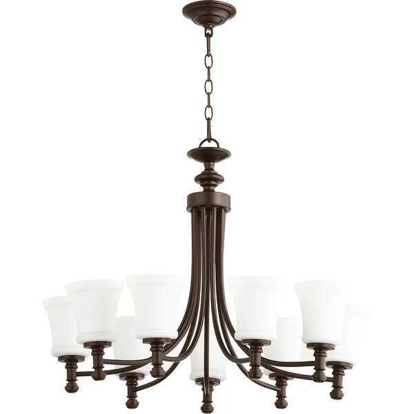 Herman 9-Light Shaded Classic / Traditional Chandelier By Charlton Home