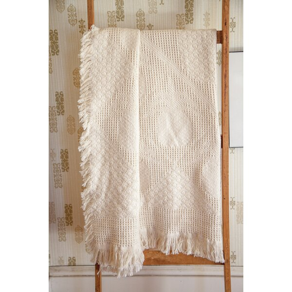 Pineapple 2 Layer Cotton Throw by Manual Woodworkers & Weavers