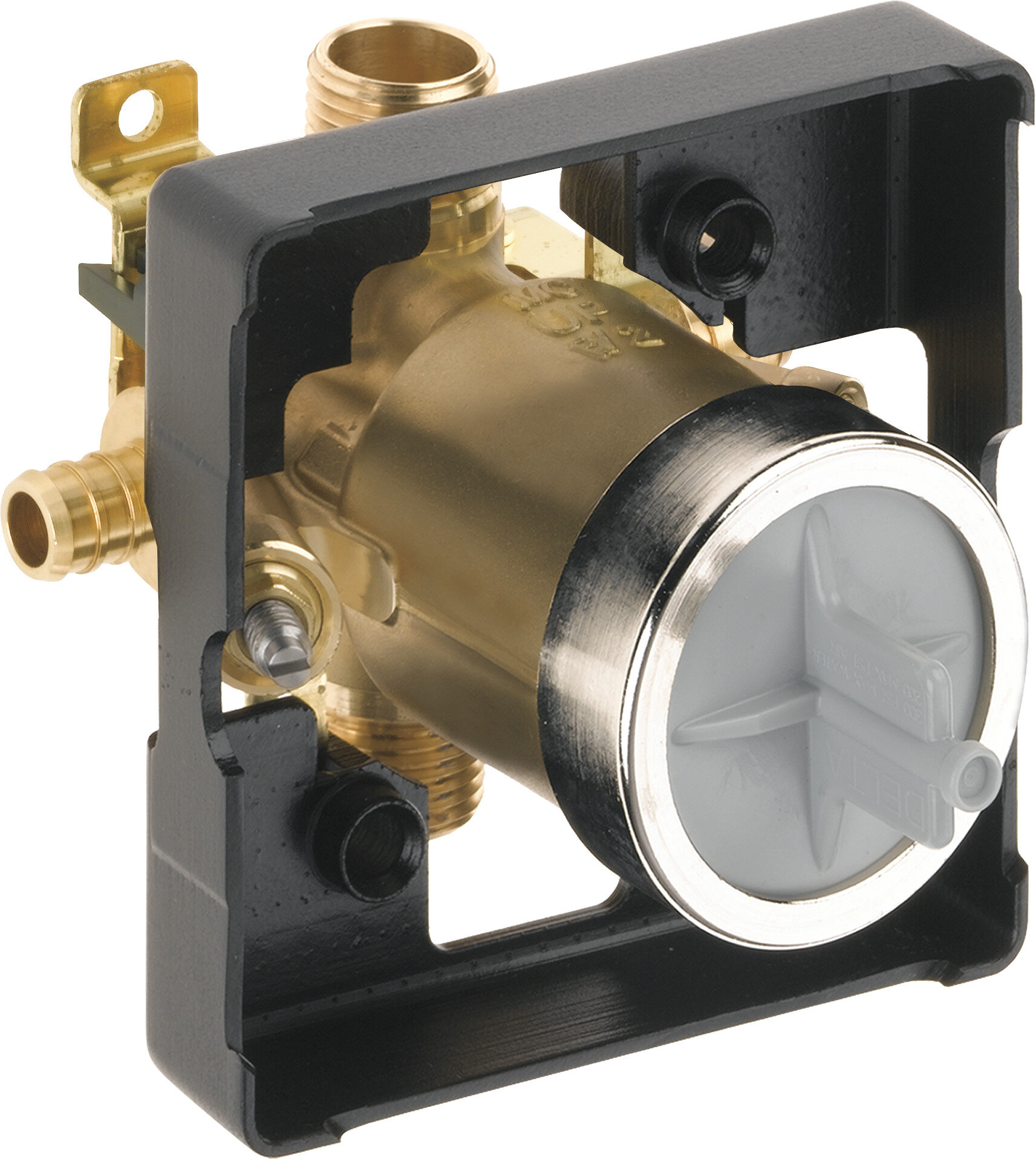 Delta Classic Universal Tub and Shower Pex Valve Body with Stop ...
