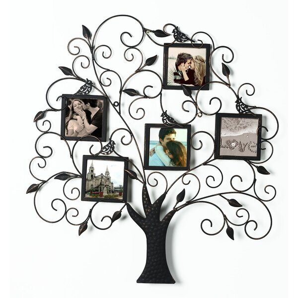Collage Wall Hanging 5 Opening Picture Frame by Adeco Trading