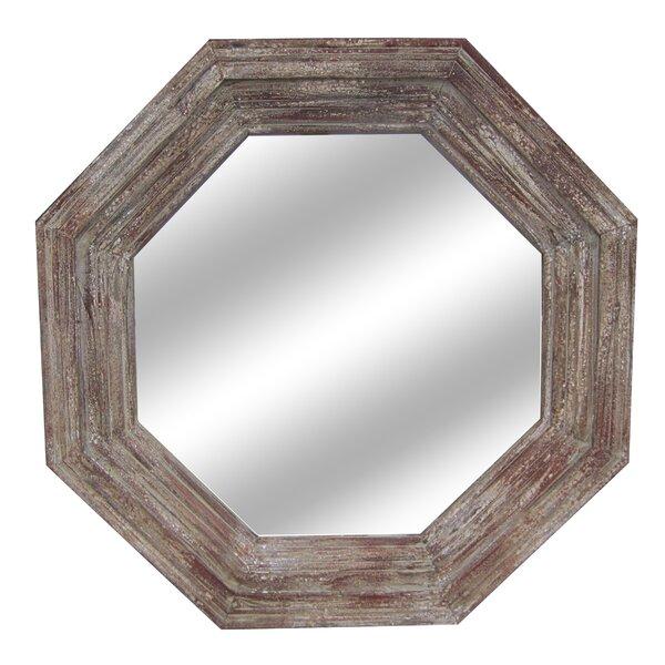 Octagonal Wall Mirror by One Allium Way