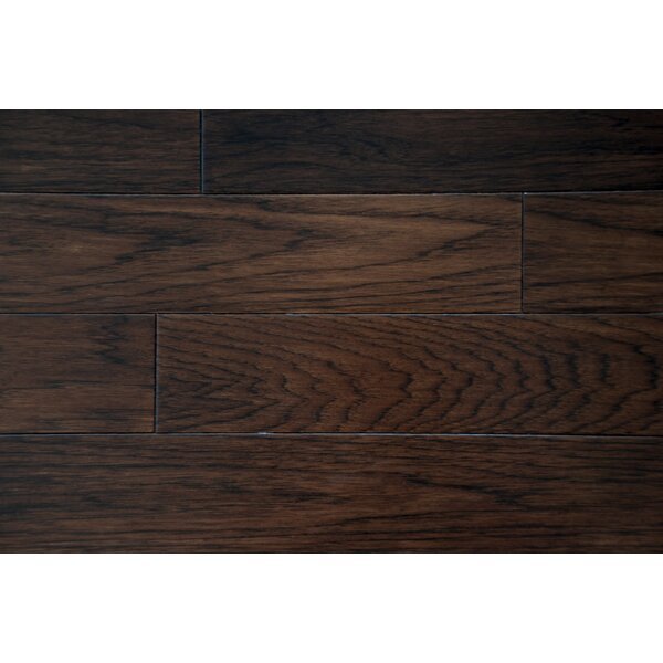 Oliver 7 Solid Hickory Hardwood Flooring in Hickory by Alston Inc.