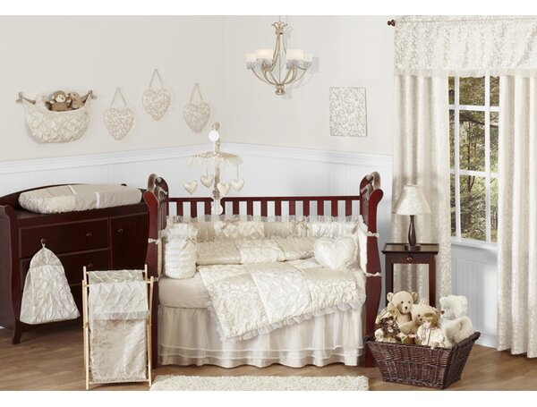 Victoria 9 Piece Crib Bedding Set by Sweet Jojo Designs