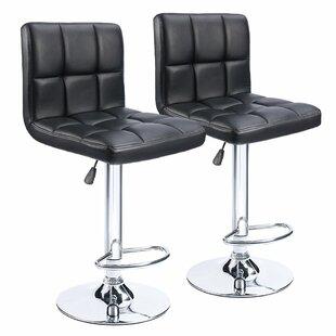 Strange Renea Adjustable Height 33 Swivel Bar Stool Set Of 2 Uwap Interior Chair Design Uwaporg