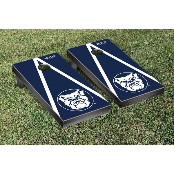 NCAA Triangle Wooden Version 2 Cornhole Game Set by Victory Tailgate