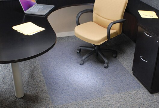 Davinci Standard Beveled Edge Chairmat by ES Robbins Corporation