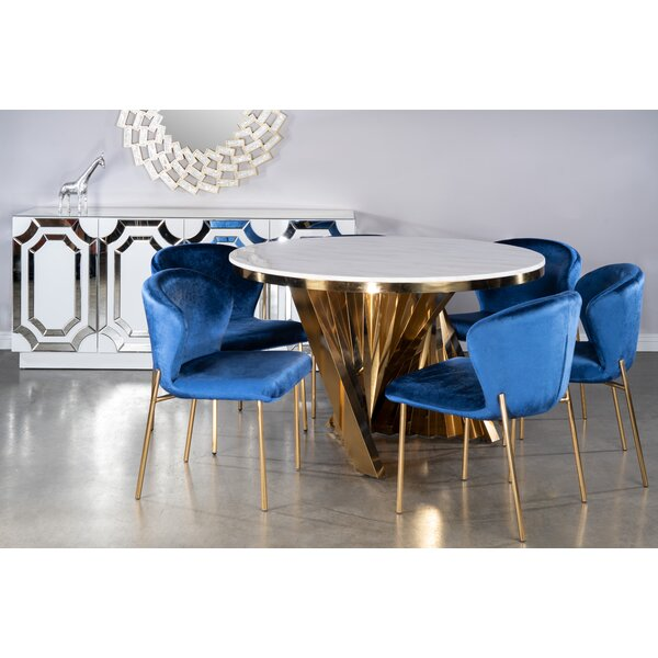 Garnica 7 Piece Dining Set By Everly Quinn
