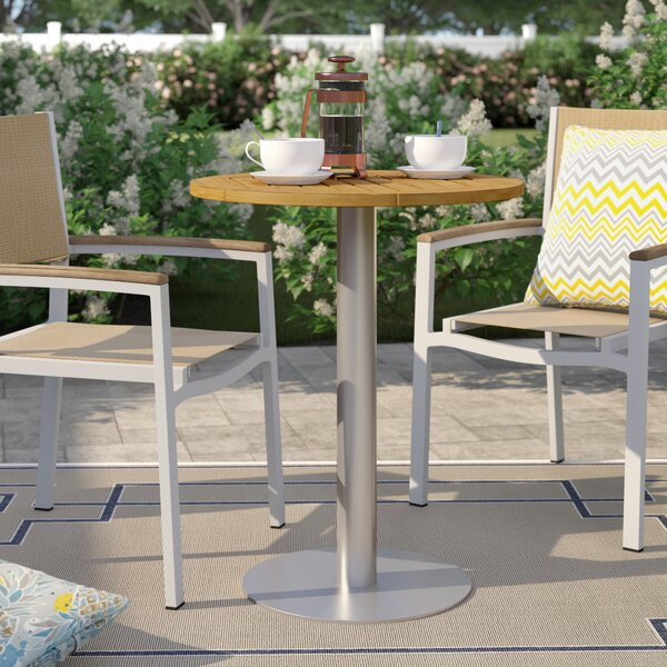 Caspian Plastic/Resin Bistro Table by Sol 72 Outdoor