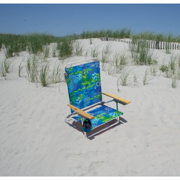 Lay-Flat Reclining/Folding Beach Chair by Rio Brands Rio Brands
