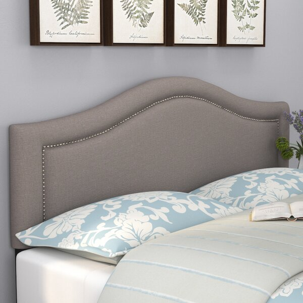 Boggs Upholstered Panel Headboard by Lark Manor