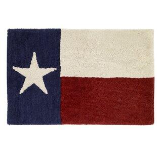 Texas Star Bath Rug ByAvanti Linens