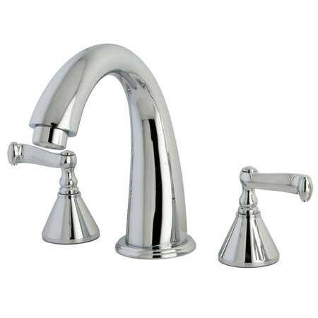 Roman Double Handle Roman Tub Faucet by Kingston Brass