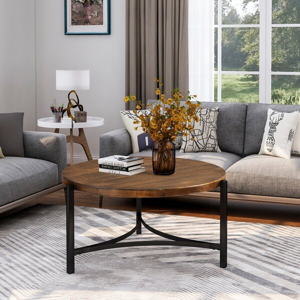 Elin 3 Legs Coffee Table By Union Rustic