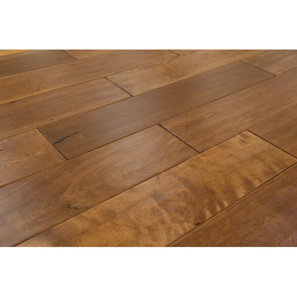 Danube 4-3/4 Solid Birch Hardwood Flooring in Sand by Branton Flooring Collection