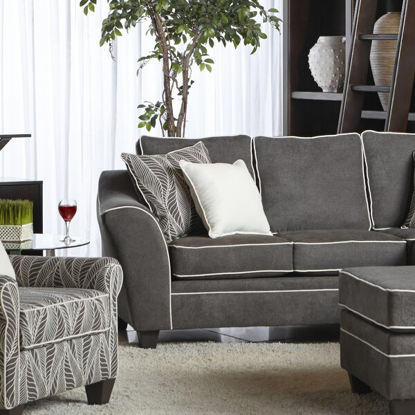 Aquila Reversible Sectional by Ivy Bronx