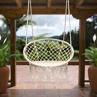 al Aire Libre Doble Boho Tassel Nest Swing Chair Al Aire Libre//Interior Picnic Garden Macrame Brazilian Hanging Net Swing XXJJZON Hamaca Bohemia con Almohada
