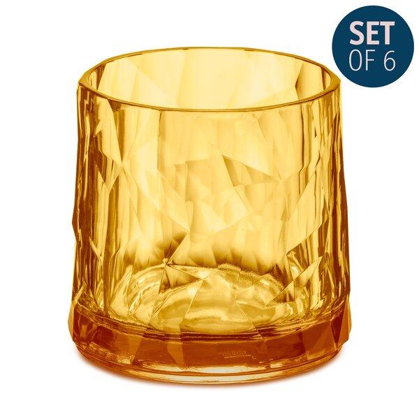 Dollison 8 oz. Glass Cocktail Glasses (Set of 6) by Ivy Bronx