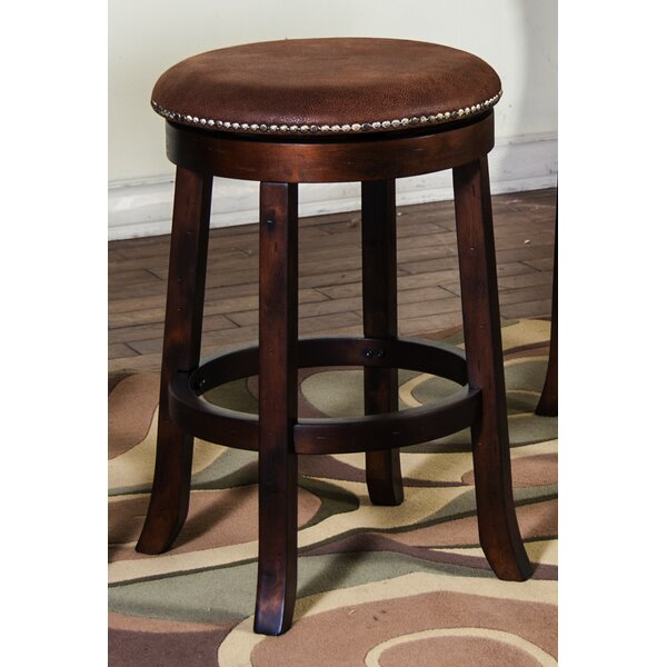 Hearns 24 Swivel Bar Stool by Loon Peak