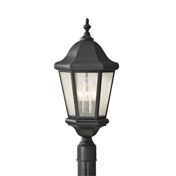 Martinsville Outdoor 3-Light Lantern Head by Feiss