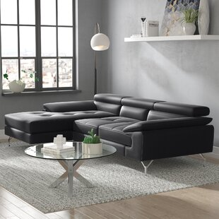 Courtdale Leather Sectional