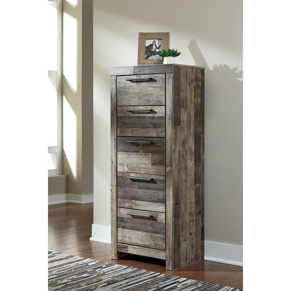 Wilcoxen 5 Drawer Lingerie Chest by Millwood Pines