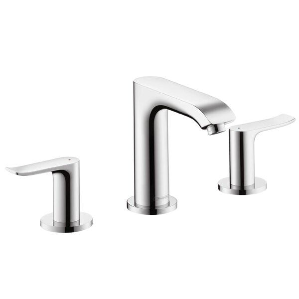 Metris E Widespread Bathroom Faucet by Hansgrohe