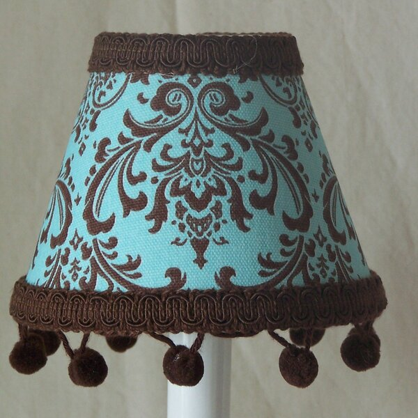 Chocolate Damask Night Light by Silly Bear Lighting