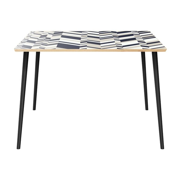 Modern Meriwether Dining Table By Wrought Studio 2019 Sale