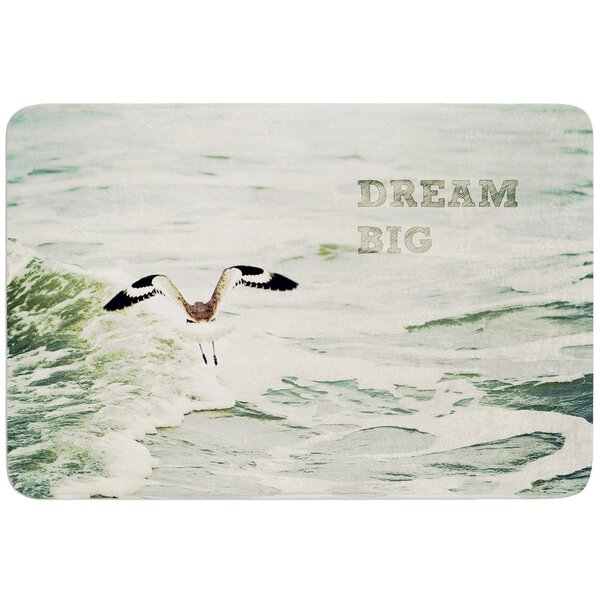 Dream Big by Robin Dickinson Bath Mat by East Urban Home