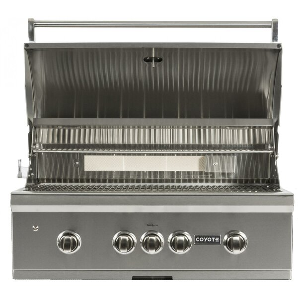 4-Burner Built-In Gas Grill by Coyote Grills
