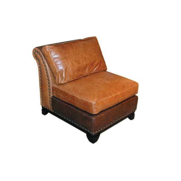 Kingsley Slipper Chair by Omnia Leather Omnia Leather