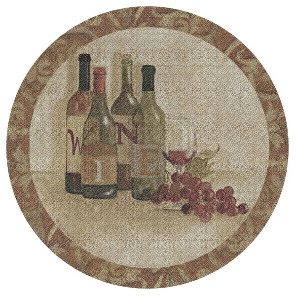 Wine Settings I Cork Trivet by Thirstystone