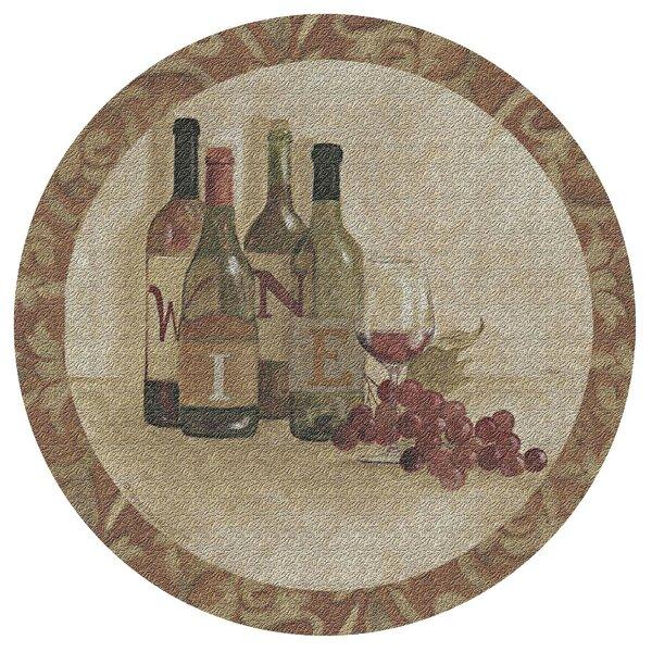 Wine Settings I Cork Trivet by Thirstystone