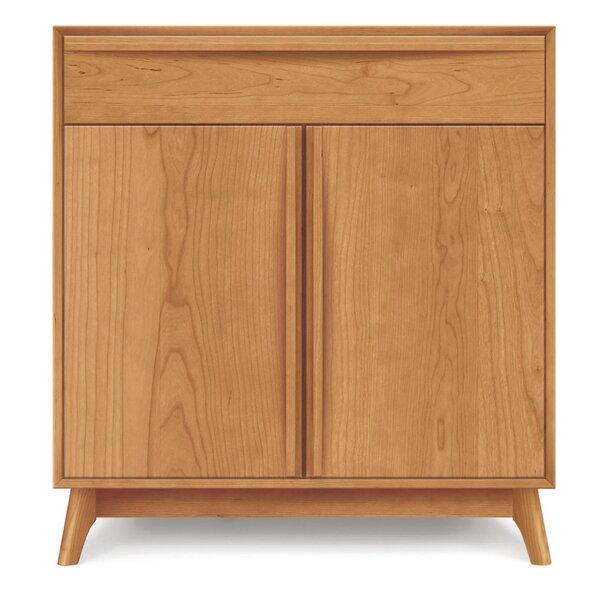 Catalina 1 Drawer Server by Copeland Furniture Copeland Furniture