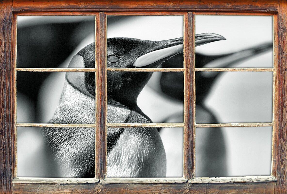 home loft concept wandtattoo pinguine. Black Bedroom Furniture Sets. Home Design Ideas