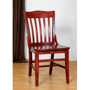 Marvelous Schoolhouse Solid Wood Dining Chair (Set Of 2)