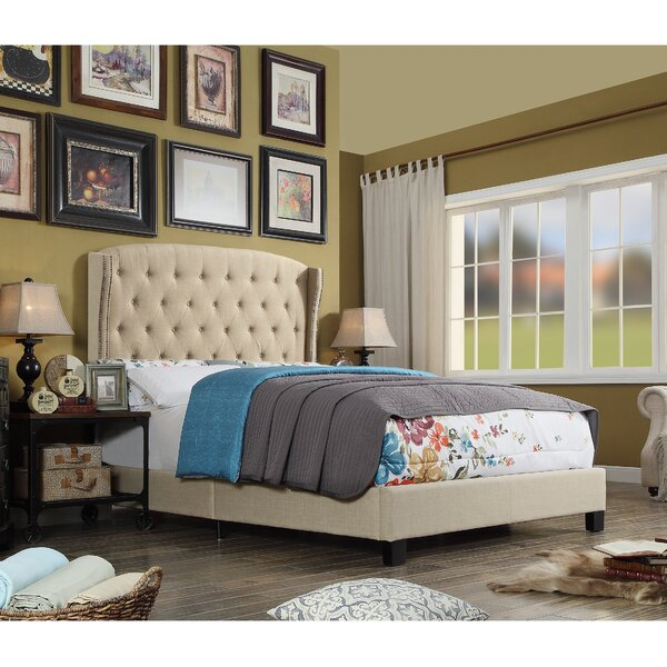 Rawlinson Upholstered Standard Bed by Charlton Home